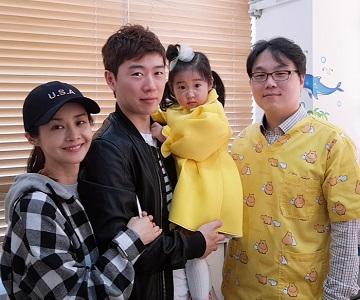 김포 함소아에서 만난 김가연♥임요환 부부와 하령이